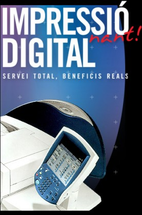 impressió digital Xerox